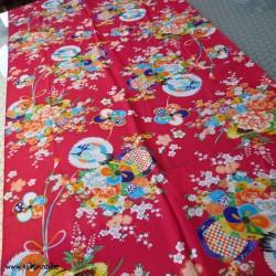 Kimono Stoff - doppelte...