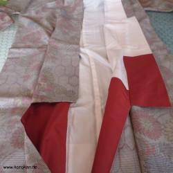 Kimono Kasuri Komon Kikku...