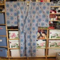 Meisen Kimono - Asanoha...
