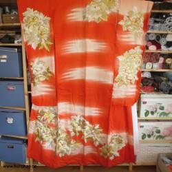 prächtiger Furisode Kimono...