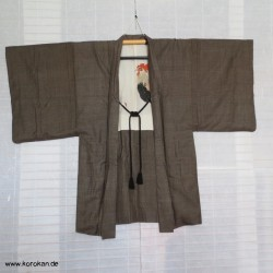 Haori Jacke Oshima Tsumugi...