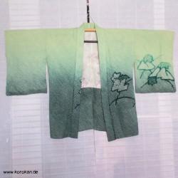 Haori Shibori Seide - Fuji San