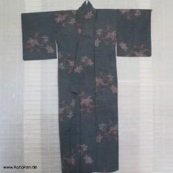 Woll Kasuri Kimono -...
