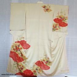 Homongi Kimono mit Shibori...
