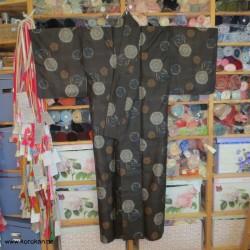 Meisen Komon Kimono -...