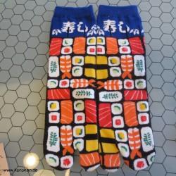 große bunte Tabi Socken