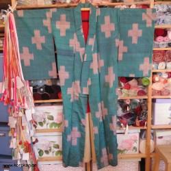 Meisen Seiden Komon Kimono...
