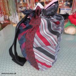 Upcycling Krawattentasche -...