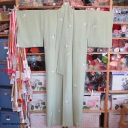 Komon Kimono mit dezentem...