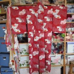 Komon Kimono mit vielen...