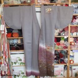 Kosode Kimono, Homongi...