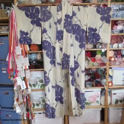 Hitoe Komon Kimono aus...