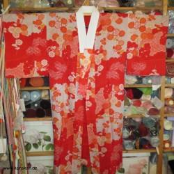 Juban für Kimono  - bunte...