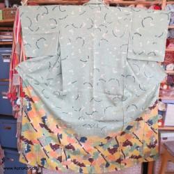 Gingko Tsukesage Kimono in...