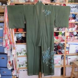Hitoe Rho Kimono - olivgrün...
