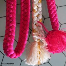 Obijime, geflochten, pink -...