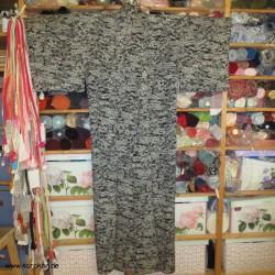 Hitoe Komon Kimono -...