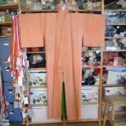 Full Shibori Komon Kimono...