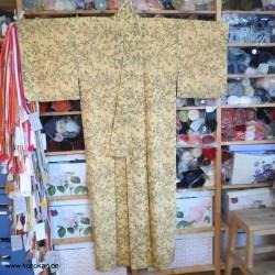 Komon Kimono Bambusgitter...