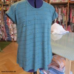 Shirt mit überschnittenen...