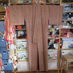 Tsumugi Seide Komon Kimono...