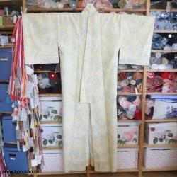 Tsumugi Seiden Kimono,...