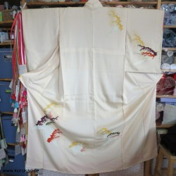 Homongi Kimono mit bunten...