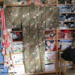 Seiden Komon Kimono mit...