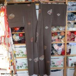 Omeshi Komon Kimono -...