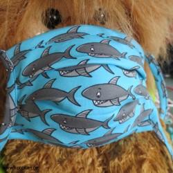 Alltags Maske Jersey Haie,...