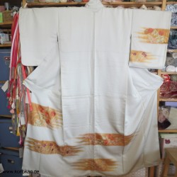 Homongi Kimono mit goldenen...