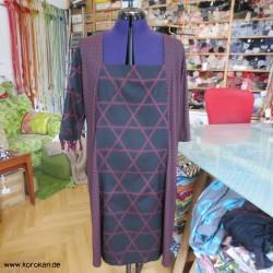Kombikleid aus Tsumugi...