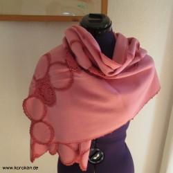 exklusiver Schal aus feiner...