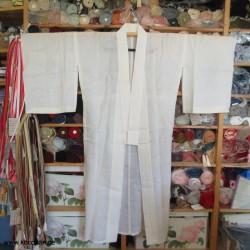 Juban Kimono aus Hanf,...