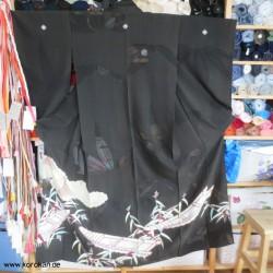 antiker Tomesode Kimono Rho...