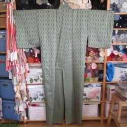 großer Komon Kimono mit...