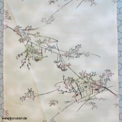 Kimono Seide, abstrahiertes...