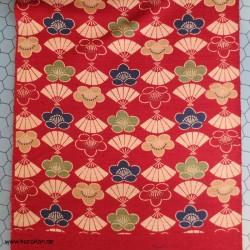 Wolle / Seide Kimono Stoff...