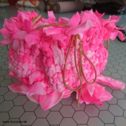 Upcycling Pompadour in pink...