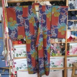 Meisen Komon Kimono, bunt,...