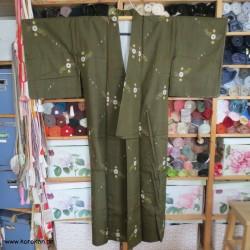 Meisen Komon Kimono, Kasuri...