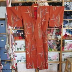 Meisen Komon Kimono, Bambus...