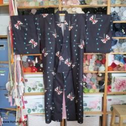Meisen Komon Kimono