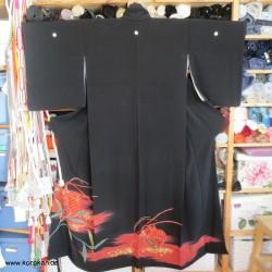 Tomesode Kimono mit Ebi...