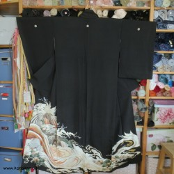 Tomesode Kimono mit...