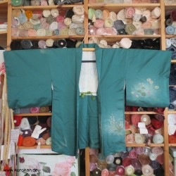 Haori Kimono Jacke, türkis...