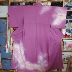 lila Homongi Kimono mit...
