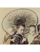 japanische Fächer und Schirme - Korokan