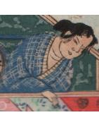 japanische Yukata Sommerkimono - Korokan