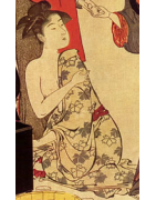 japanische Hitoe ungefütterte Kimono - Korokan
